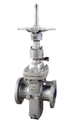 平板闸阀,分抗硫和不抗硫及轻质油的有导流孔图片